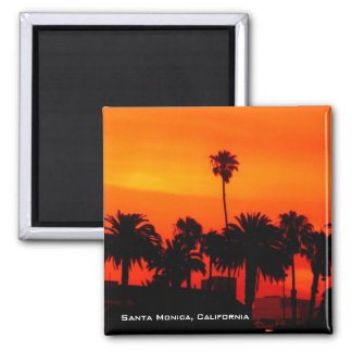 Santa Monica Sunset Magnet