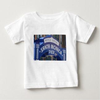 Santa Monica Venice Beach California Beach Holiday Baby T-Shirt
