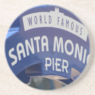 Santa Monica Venice Beach California Beach Holiday Coaster