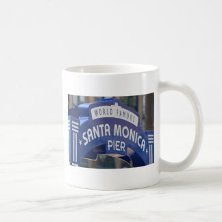 Santa Monica Venice Beach California Beach Holiday Coffee Mug
