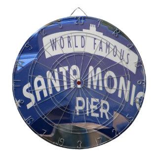 Santa Monica Venice Beach California Beach Holiday Dartboard