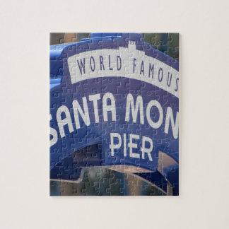 Santa Monica Venice Beach California Beach Holiday Jigsaw Puzzle
