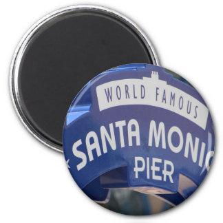 Santa Monica Venice Beach California Beach Holiday Magnet