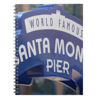 Santa Monica Venice Beach California Beach Holiday Notebook