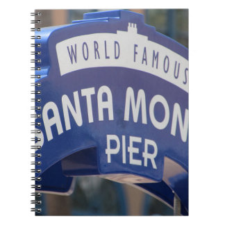 Santa Monica Venice Beach California Beach Holiday Notebooks
