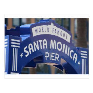 Santa Monica Venice Beach California Beach Holiday Postcard