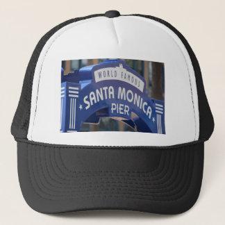 Santa Monica Venice Beach California Beach Holiday Trucker Hat
