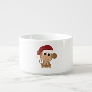 Santa Monkey Chili Bowl