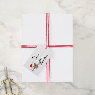 Santa Mouse Christmas List from Santa Gift Tags