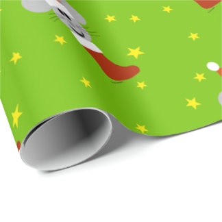 Santa Mouse Christmas Wrapping Paper