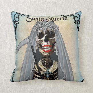 Santa Muerte Art Pillow