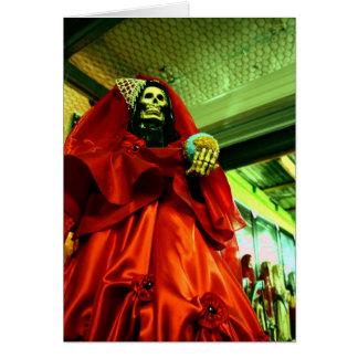 Santa Muerte Card