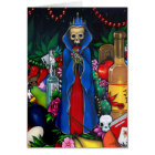 """""""Santa Muerte"""" Greeting Card"""