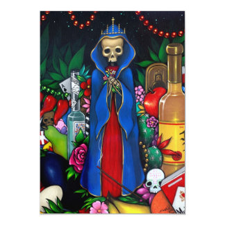 Santa Muerte INVITATIONS Day of the Dead