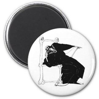 Santa Muerte Mexican Grim Reaper Magnet