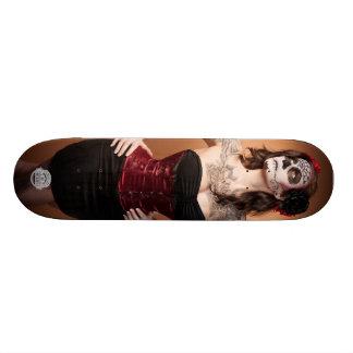 Santa Muerte Skateboard Deck