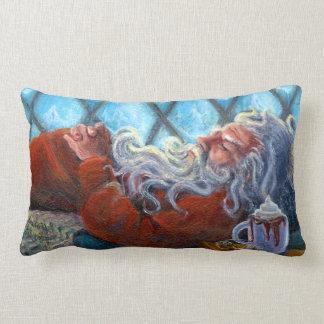 """""""Santa Napping"""" Pillow"""
