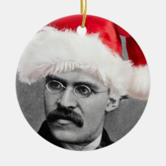 Santa Nietzsche Atheist Ornament