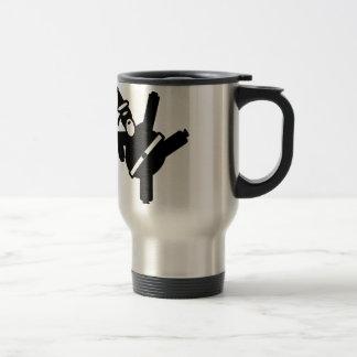 Santa Ninja Travel Mug