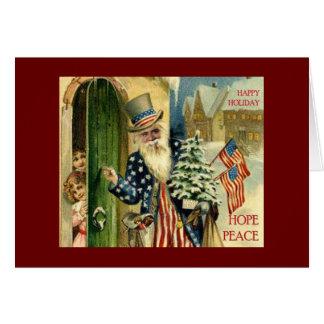 Santa Obama Hope for Christmas 200... - Customized Card