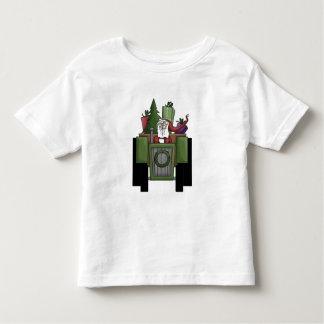 Santa On A Tractor t-shirt