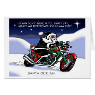 Santa Outlaw© Christmas Card