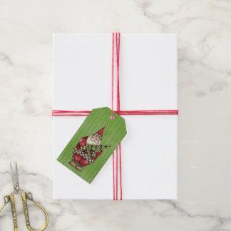 Santa Pack Of Gift Tags