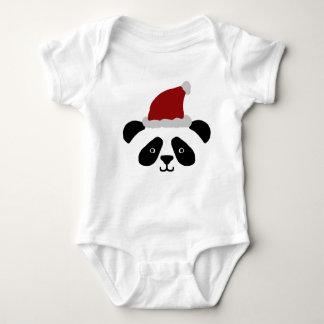 Santa Panda Baby Romper