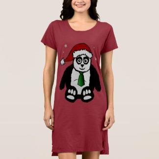 Santa Panda Dress