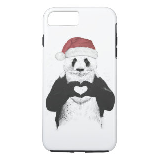 Santa panda iPhone 7 plus case