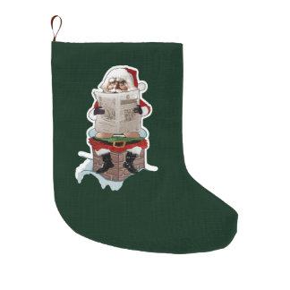 Santa Party Pooper Funny Christmas Stockings