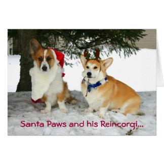 Santa Paws and his Reincorgi Card
