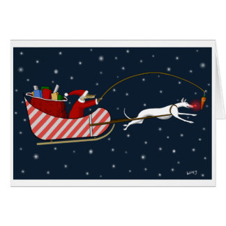 Santa Paws and Roo-dy Card