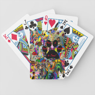 Santa Paws is Coming to Town Bicycle Playing Cards