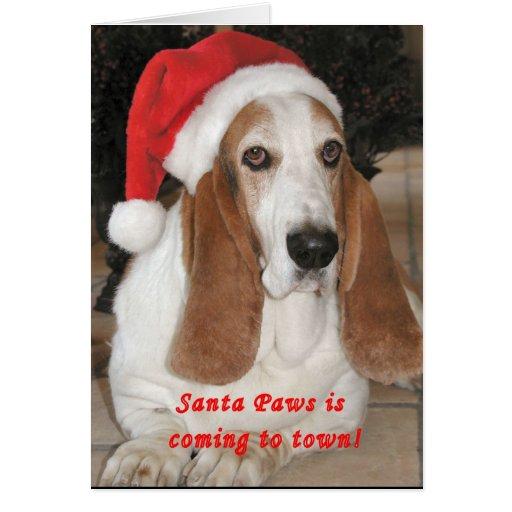 "Santa Paws ""Merry Christmas"" Card"