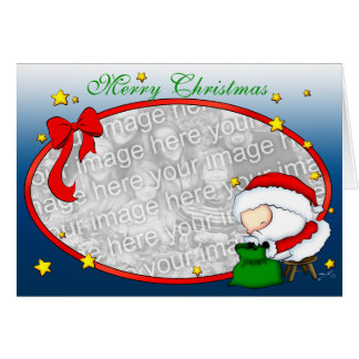 Santa Presents template Card