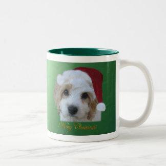 Santa Puppies Mug