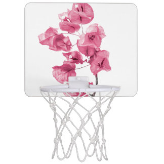 Santa Rita Flowers Photo Mini Basketball Hoop