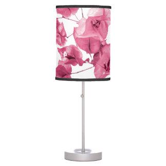 Santa Rita Flowers Photo Table Lamp