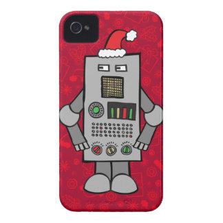 Santa Robot iPhone 4 Covers