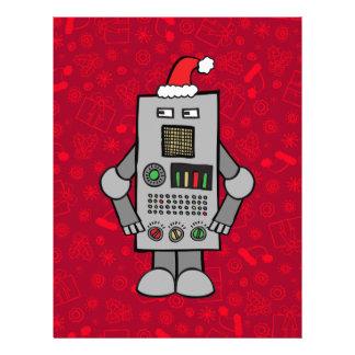 Santa Robot Letterhead