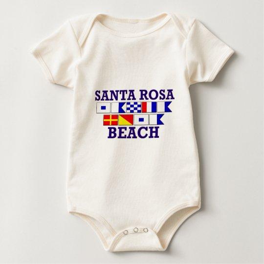 Santa Rosa Beach Baby Bodysuit