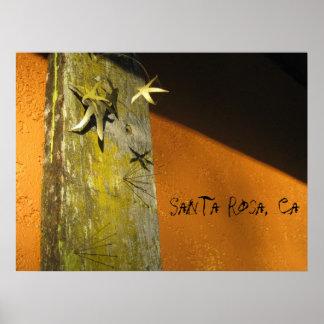 Santa Rosa copie d art de CA Affiches