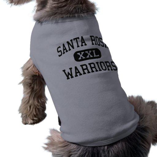 Santa Rosa - guerriers - haut - Santa Rosa le Texa Tee-shirt Pour Toutou