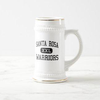 Santa Rosa - guerriers - haut - Santa Rosa le Texa Mug À Café