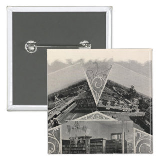 Santa Rosa la Californie 6 Badges Avec Agrafe