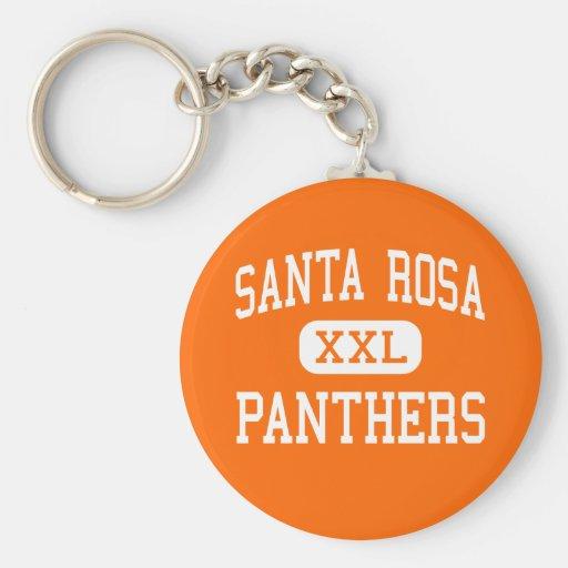 Santa Rosa - panthères - haut - Santa Rosa Porte-clé