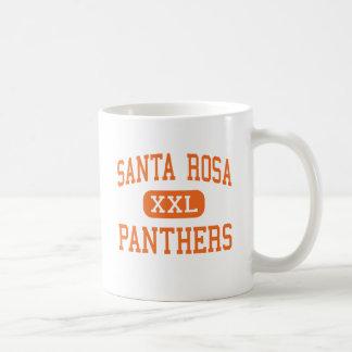 Santa Rosa - panthères - haut - Santa Rosa Tasse À Café