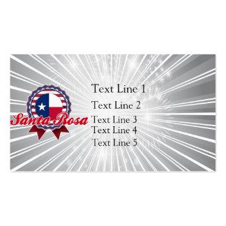 Santa Rosa, TX Modèle De Carte De Visite