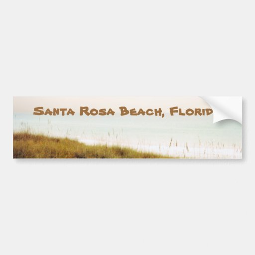 Santa Rosa vintage BCH, FL Autocollants Pour Voiture